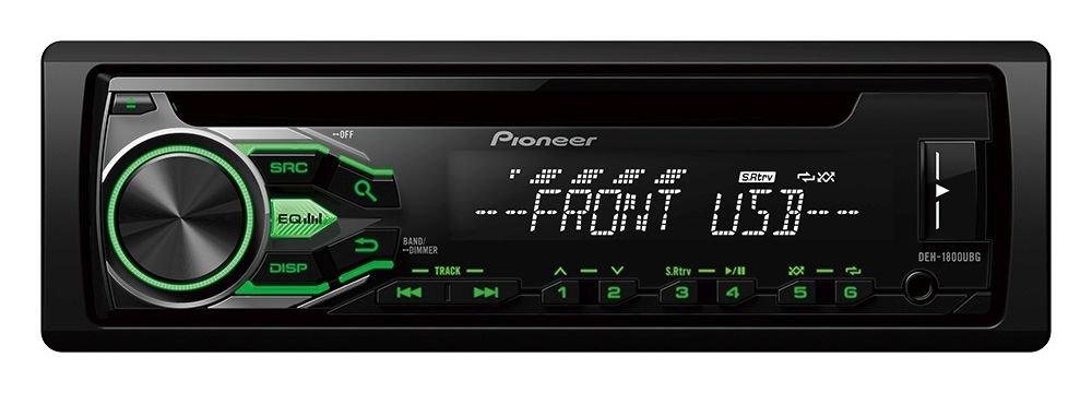 2.Pioneer DEH-1800UBG
