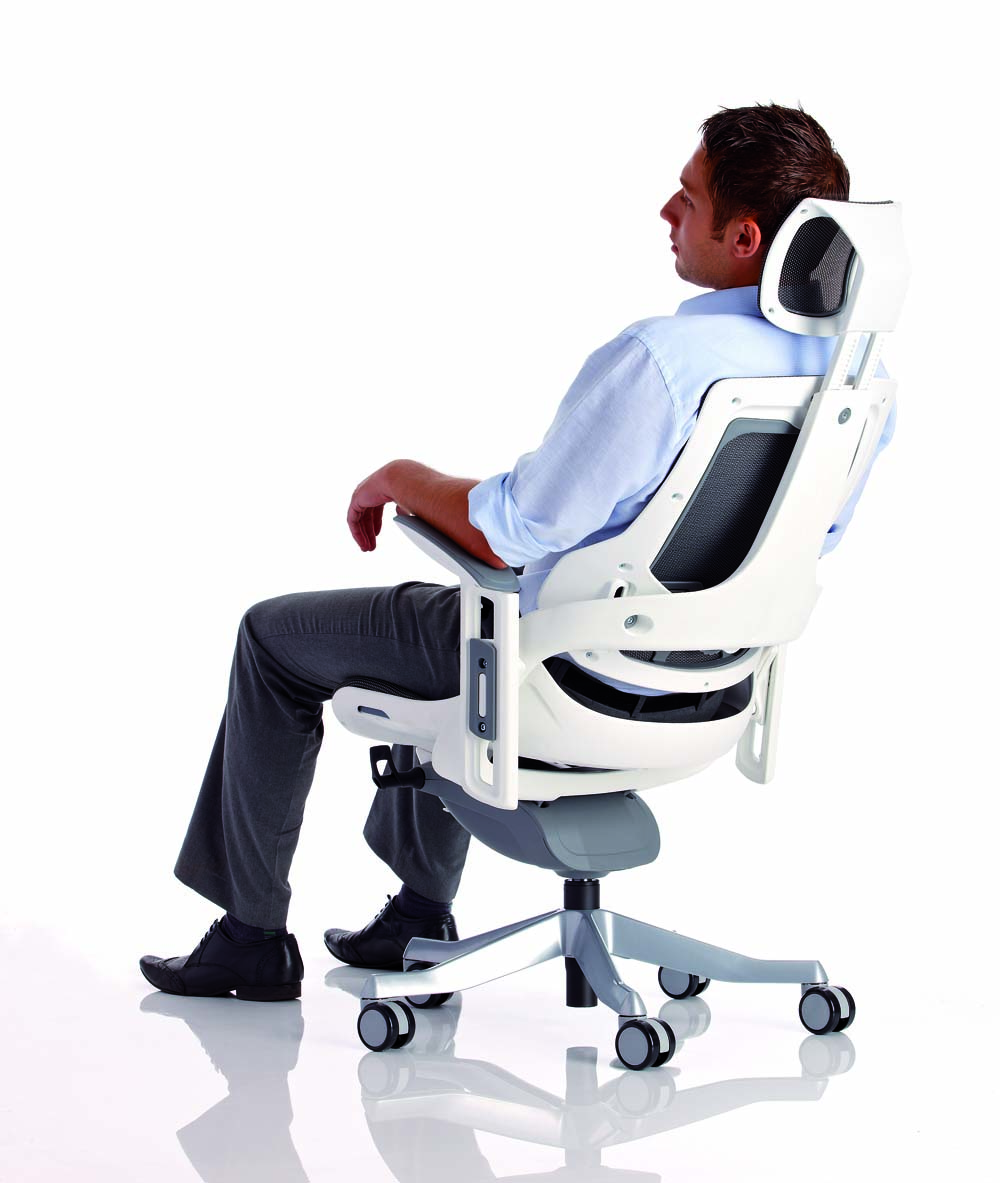 La mejor silla de escritorio de oficina comparativa del for Soporte lumbar silla oficina