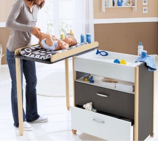 El mejor cambiador de beb comparativa guia de compra for Mesa cambiador para bebe