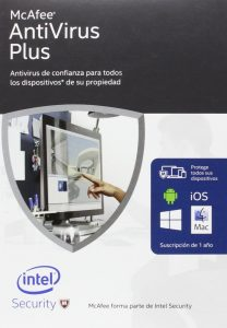 1.1 McAfee Antivirus Plus