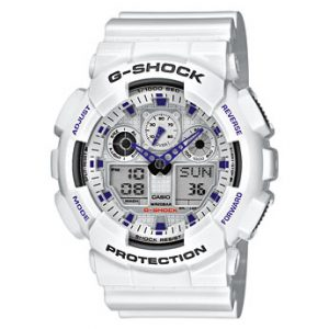 1.CASIO G-Shock GA-100A-7AER