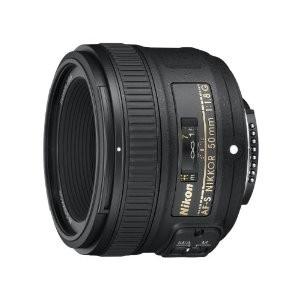 1.Nikon AF-S 50mm F1.8 G