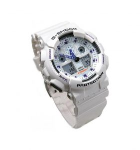 2.CASIO G-Shock GA-100A-7AER