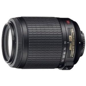 4.Nikon AF-S DX VR 55-200mm F4-5.6 G