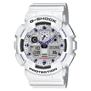 5.CASIO G-Shock GA-100A-7AER