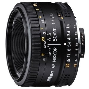 5.Nikon AF Nikkor 50mm