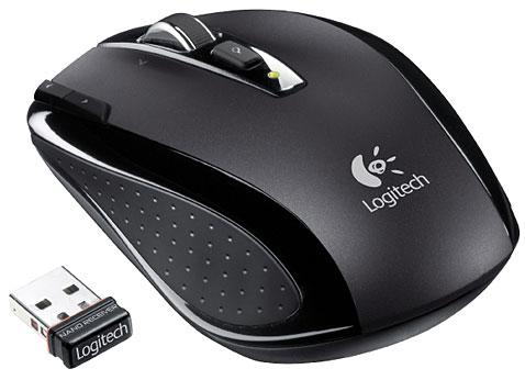 ratón inalámbrico con su conector