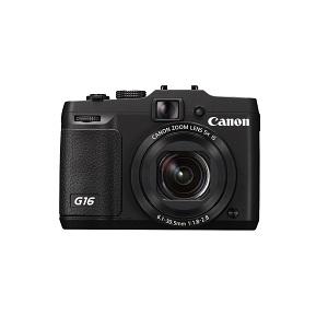 1.Canon Powershot G16
