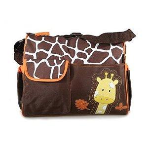 2.Genérico Patrón Giraffe Naranja