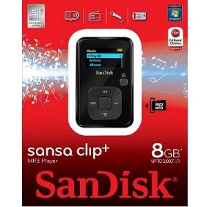 1.2 SanDisk Sansa Clip+ SDMX18