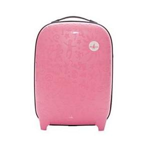 3.John Travel Trolley Cabina Bucarest Rosa Rosa