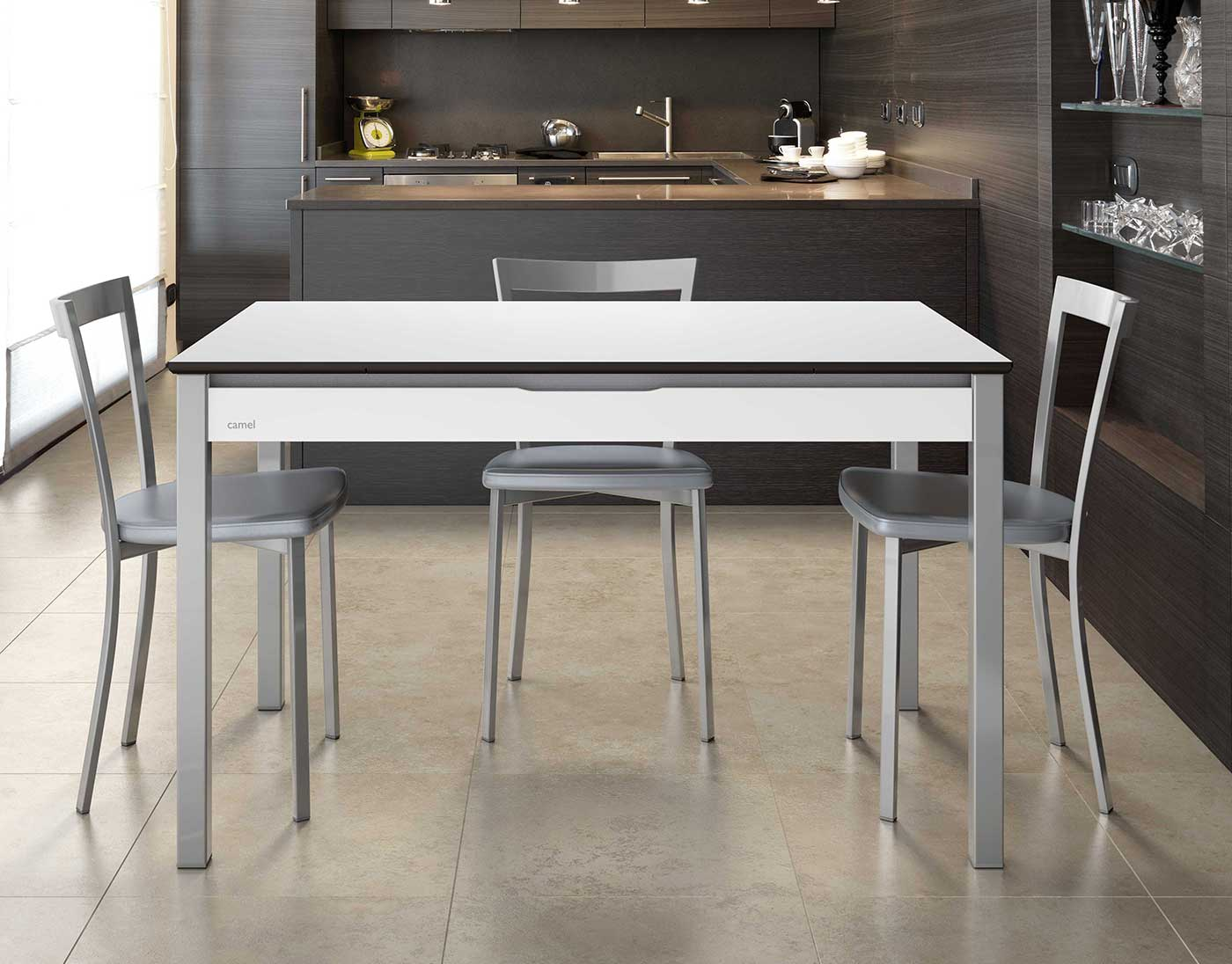La mejor mesa de cocina comparativa guia de compra del for Cocinas estrechas con mesa