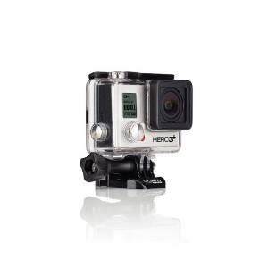 2.GoPro HERO 3+ Silver Edition