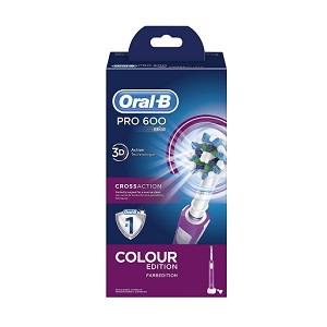 1.Oral-B PRO 600 CrossAction