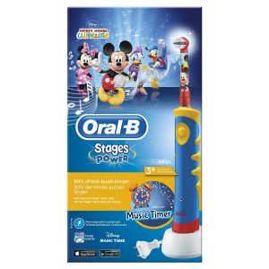 3.Oral-B Stages Power Kids Mickey Mouse