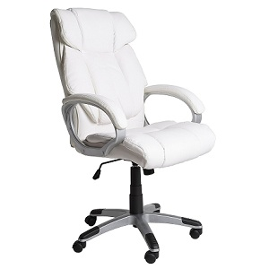2.Sillón de oficina Confort Blanco