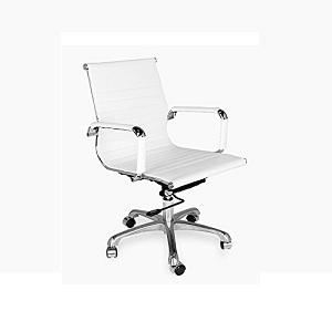 Las mejores sillas de oficina blancas comparativa del for Sillas de oficina modernas