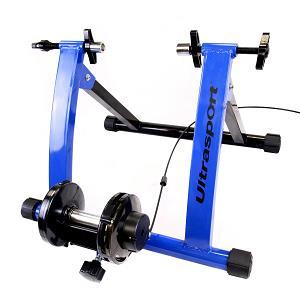 1.Ultrasport - Set de rodillo de bicicleta con cambio de marchas, certificado de seguridad TÜV