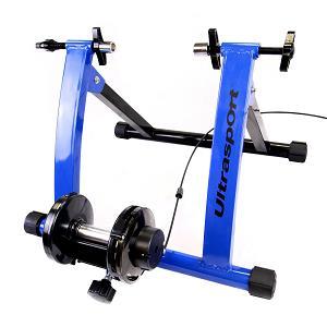 1.Ultrasport - Set de rodillo de bicicleta con cambio de marchas
