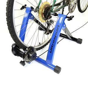 3.Ultrasport - Set de rodillo de bicicleta con cambio de marchas