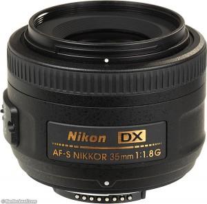 1.2 Nikon AF-S DX 35mm F1.8 G