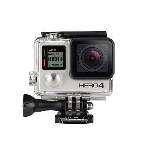 1.GoPro HERO4 Silver Edition Adventure