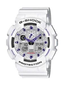 1. CASIO G-Shock GA-100A-7AER