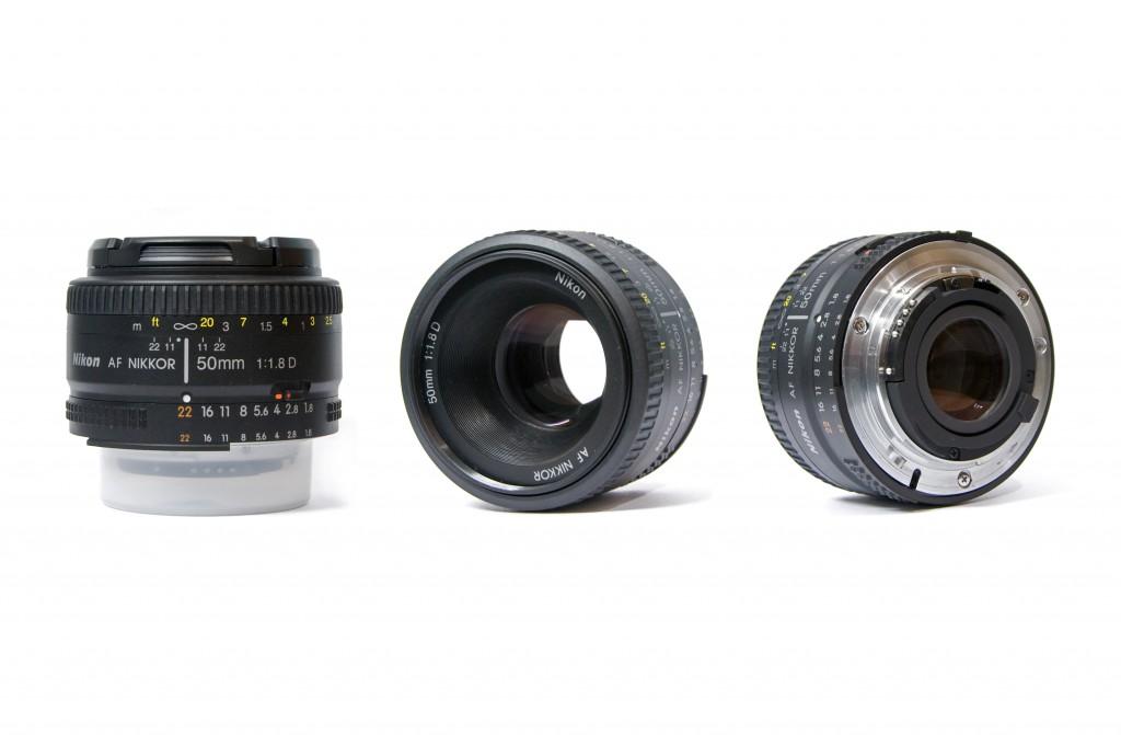 2.Nikon AF Nikkor 50mm