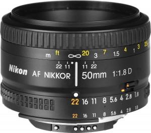 3.Nikon AF Nikkor 50mm