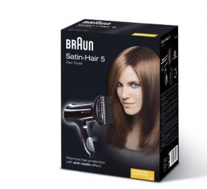 1.2 Braun - Secador de pelo HD 550