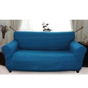 3.Afrique - Funda de sofá elástica (Azul)