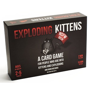 4.Exploding Kittens NSFW Edition