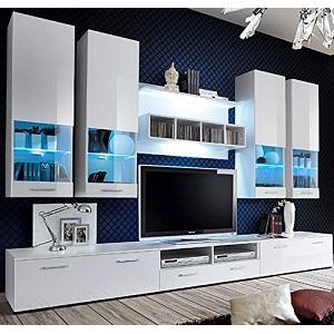 1.Muebles Bonitos - Mueble de salón Teresa 2 blanco