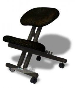 2.Silla ergonómica Cinius profesional color negro sin respaldo