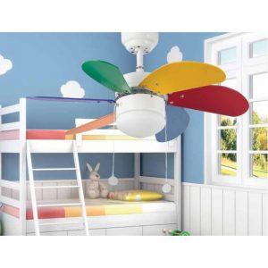 A.1 El mejor ventilador de techo infantil