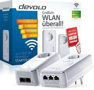 1.2 Devolo 1825 DLAN 500 AV Wireless
