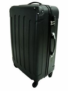 1.3 Todeco - Set de 3 maletas Trolley de color negro