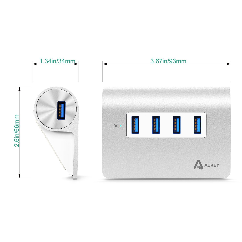1.AUKEY Hub USB 3.0 4
