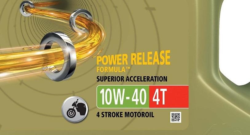 1.Castrol Power 1 Aceite de Motores 10W-40 4T