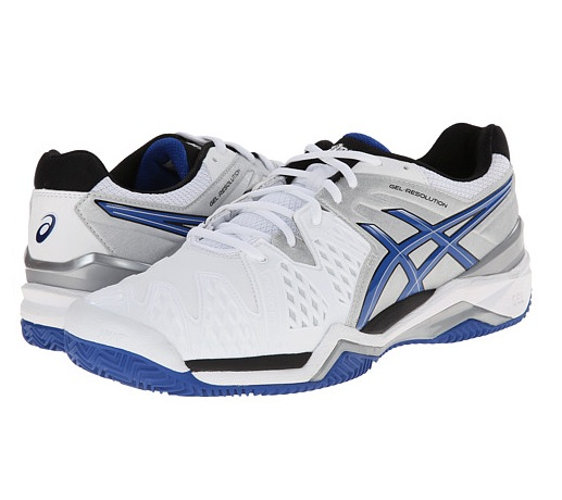 2.Asics Gel-Resolution 6 Clay