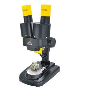 5.National Geographic - Microscopio estéreo (20x), negro y amarillo