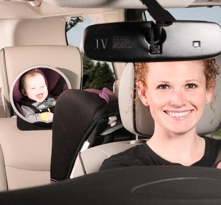 El mejor espejo retrovisor para beb s comparativa guia Espejo para carro bebe