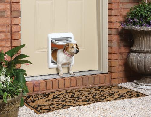 La mejor puerta para perros comparativa guia de compra del abril 2018 - Puerta vaiven para perros ...