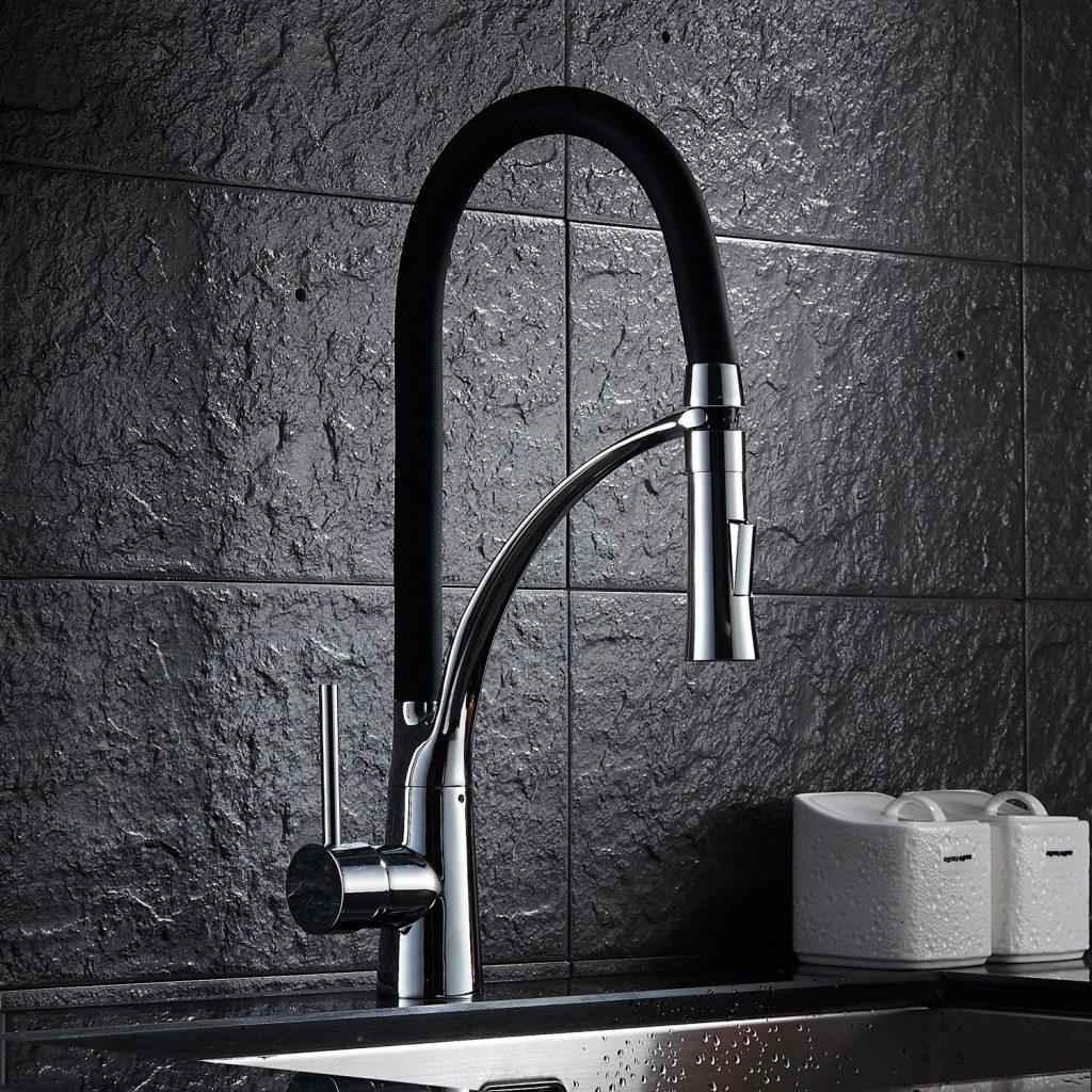 El mejor grifo de cocina con ducha extra ble comparativa for Grifos de ducha termostaticos precios