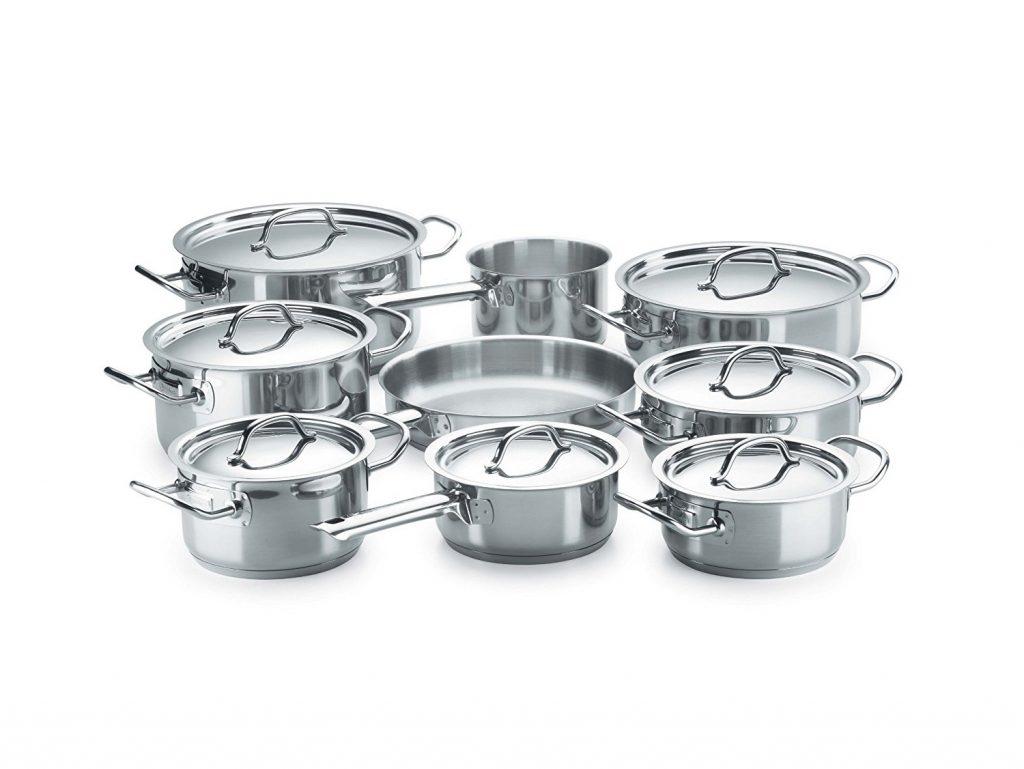 Cocinas de induccion fagor placa induccion fagor ifzone s for Bateria de cocina alemana