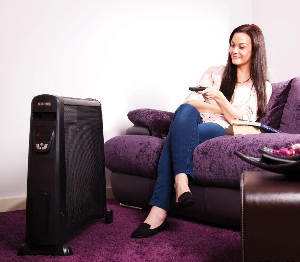 Calefactor el ctrico de bajo consumo guia de compra y - Cual es el mejor sistema de calefaccion ...