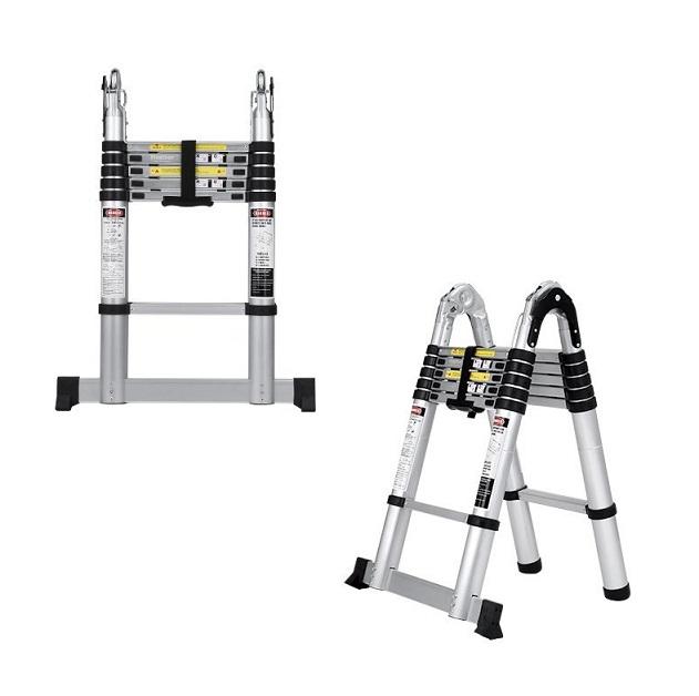 Las mejores escaleras telesc picas plegables comparativa for Escaleras domesticas plegables