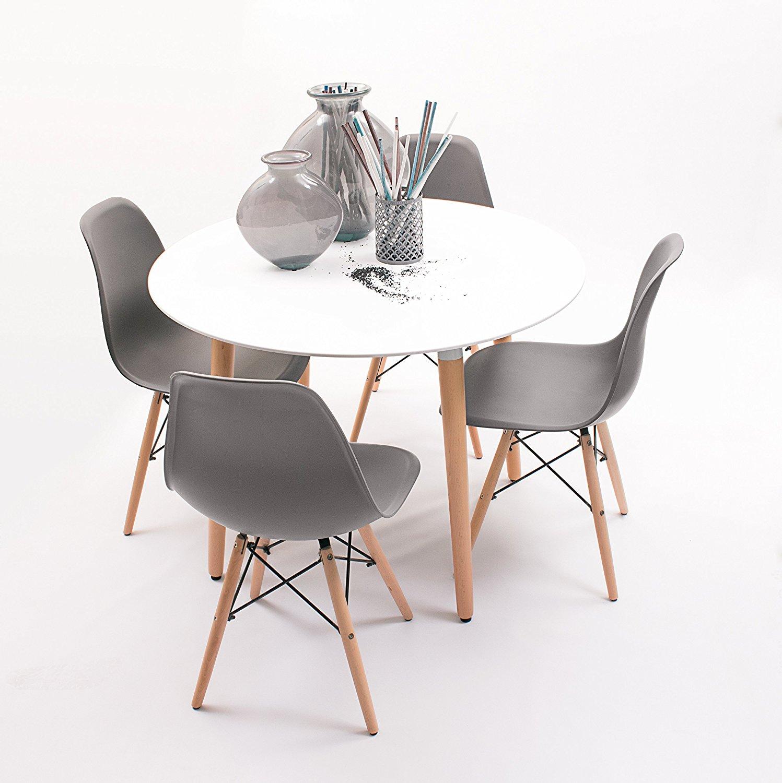 Las mejores mesas de cocina con sillas comparativa del for Mesa ayudante de cocina