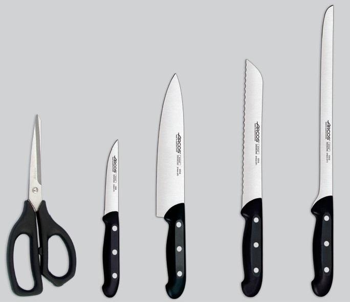 Los mejores juegos de cuchillos arcos comparativa del abril 2018 - Juego de cuchillos de cocina ...