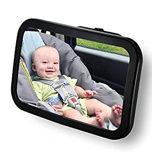 Los mejores espejos retrovisores para silla de bebe comparativa del abril 2018 - Espejo coche bebe amazon ...